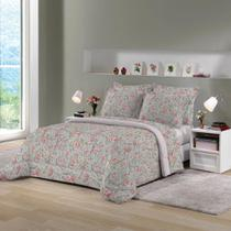 88e2dbd146 Edredom King Size Rosa Estampado Munique 260x280cm Lepper