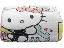 Edredom Solteiro Artex - Hello Kitty