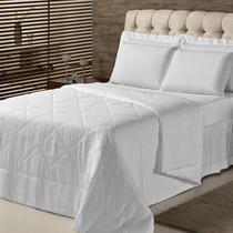 Edredom Solteiro Plumasul Summer Soft Touch 160X220Cm Branco -