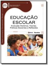 Educacao escolar: evolucao historica, teorias, pra - Editora erica ltda