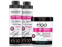Eico Kit Liso Mágico Shampoo + Condicionador + Máscara 1kg - Eico Cosméticos
