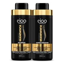 Eico Tratamento Mandioca Kit  Shampoo 450ml + Condicionador 450ml -