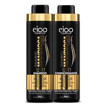 Eico Tratamento Mandioca Kit  Shampoo 800ml + Condicionador 800ml -