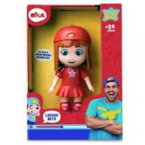 Ekla boneca aventureira vermelha luccas neto 1126 - Elka
