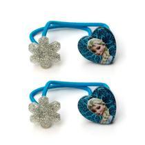 Elástico de Cabelo Infantil Elsa Frozen Disney - Taimes