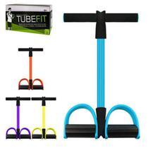 Elástico De Tensão Com Apoio Para Os Pés Treino TubeFit - Mbfit