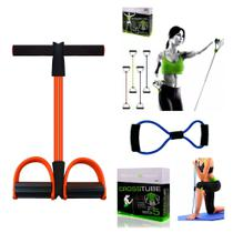 Elástico de Tensão para Exercícios Tube Fit + Cross Tube + Power Tube - Mbfit - Mb Fit