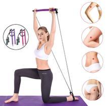 Elástico De Tensão Para Pilates E Yoga Treino Funcional - Pilates Studio