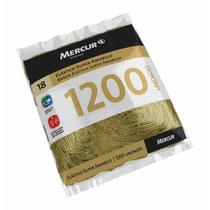 Elastico dinheiro super amarelo puro pacote com 1200un / pct / mercur -