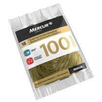 Elástico Mercur Nº18 Amarelo Super com 100 Unidades -