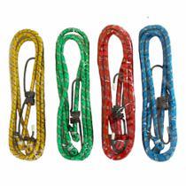 Elástico para Bagageiro 1,5 mts  Embalagem com 04 cordas - Fertak Tools