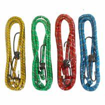 Elástico para Bagageiro 1,5 mts  Embalagem com 04 cordas - Fertak Tools -