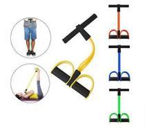 Elástico Para Treino Extensor Pedal De Puxar Tensão Com Apoio Musculação Funcional Pernas Academia Ginástica - Elastico