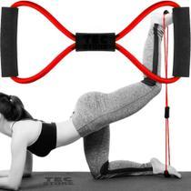 Elástico Tensão Exercício Treino Em Casa Ombro Braço Glúteos - Mbfit -