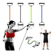 Elástico Tensão Exercícios Costas Ombro Biceps Triceps Peito - Mb Fit