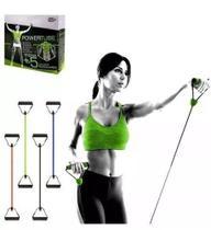 Elástico Tensão Exercícios Ombro Biceps Triceps Peito Costas - Mb Fit - Mbfit