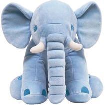 Elefante Almofada Travesseiro Gigante Para Bebe Pelúcia Antialergico - Buba -