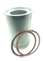 Elemento filtro separador ar / óleo para compressor rotativo de parafuso schulz - 021.0185-0 -