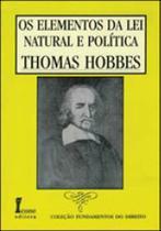 Elementos da lei natural e politica, o - Icone - Ícone