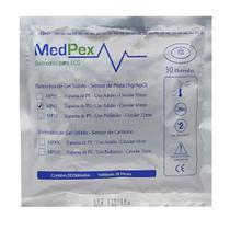 Eletrodo Descartável P/ ECG Adulto Espumado C/ Gel Pct C/ 50 Und - Medpex -