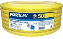 Eletroduto Corrugado 20Mm Amarelo Peca C/ 50 Mt - Fortlev -
