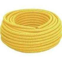 Eletroduto corrugado flex 25mmx7m amanco -