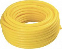 Eletroduto flexivel amarelo dn 25 amanco (rolo 50mts) -