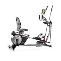 Elíptico e Bicicleta Proform Hybrid Trainer 2 em 1 com Ifit Painel LCD até 160Kg e Sistema CardioGri -