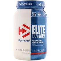 Elite 100 whey 907g (2lb) - dymatize -