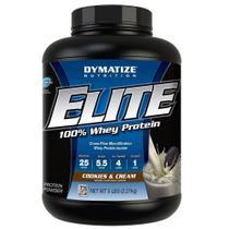 Elite 100 Whey Protein 2,3KG Cookies e Cream - - Dymatize