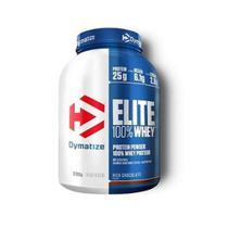 Elite 100% Whey Protein (2,3kg) - Dymatize - Dymatize Chocolate C/Amendoim