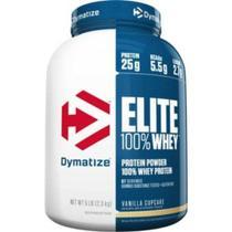 Elite 100 Whey Protein 5lb (2.3kg) -dymatize - Chocolate Pe -