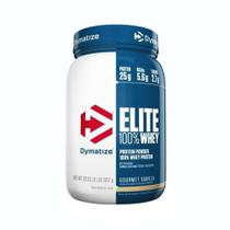 ELITE WHEY 2LBS (907g) - BAUNILHA GOURMET - Dymatize nutrition -