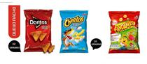 Elma Chips Doritos + fandangos + cheetos Caixa C/ 60un total -
