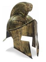 Elmo Capacete 300 Gladiador Medieval Romano Fantasia - CM Presentes e Fantasias