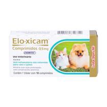 Elo-Xicam 0,5 mg anti-inflamatório 10 comprimidos - Chemitec