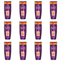 Elseve Supreme Controle 4d Shampoo 200ml (Kit C/12) -