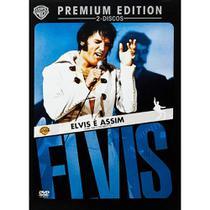 Elvis É Assim Premium Edition Dvd - Warner