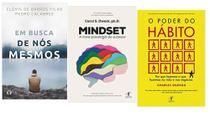 Em Busca De Nós Mesmos + Mindset A nova psicologia do Sucesso + O Poder Do Habito - Várias Editoras