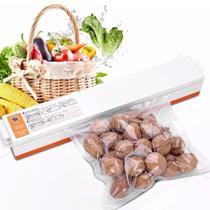Embaladora Seladora A Vácuo Alimentos + Sacos Plásticos Sacolas Exclusivo -