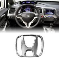 Emblema Volante Honda New Civic City Fit Novo - Dcp projetos