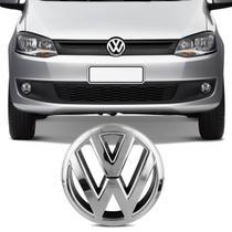 Emblema Volkswagen Grade Dianteira Fox 2010 a 2015 Cromado Encaixe Perfeito - Prime