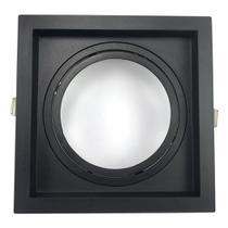 Embutido Quadrado Recuado Direcional para AR111 Preto GU10 - Save Energy - SE-330.1068 -