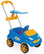 Empurrado carrinho bebê baby car azul xplast - Homeplay