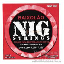 Enc Baixolão Nig 4C .040/.095 NBA803 -