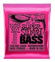 Enc ernie ball baixo 4c 045-100 super slinky 2834 - 12889 -