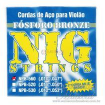 Enc Violão Aço Nig NPB560 Bronze .010/.047 -
