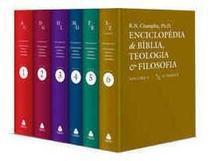 Enciclopédia De Bíblia, Teologia E Filosofia - Champlin - Editora Hagnos -