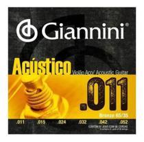 "ENCORD. Giannini P/VIOLAO BRONZE 65/35 0.011"" -"