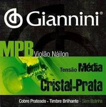 ENCORD. P/VIOLAO NYLON Giannini MPB CRISTAL/PRATA -